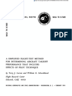A Simplified Flight Test Method - Take-off performance
