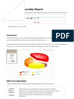 disc personality test result