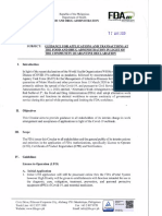 FDA Circular No. 2020-006_Guidance for applications and transactions at FDA in light of the Community Quarantine Declaration (1)