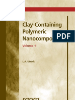 clay containing polymeric NanoComposites, volume 1, L.A. Utracki