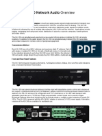 TOA NX-100 Network Audio - White Paper
