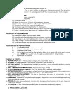 S6 UTILITY PROGRAMMES NOTES