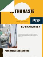 Euthanasie ppt