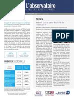 Observatoire de la petite entreprise n°77 FCGA – Banque Populaire