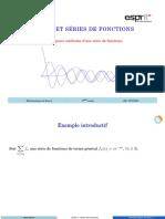 AA5 Convergence uniforme d'une série de fonctions