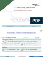 AA6 Convergence normale d'une série de fonctions