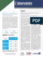 Observatoire de la petite entreprise n°75 FCGA – Banque Populaire