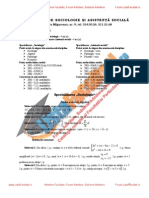 ListaFacultati.ro Subiecte Admitere Universitatea Bucuresti Sociologie 2003