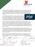 OEA Carta a Dr Insulza 15Ene2011