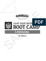 LEAP 2025 Geometry Boot Camp Sample, 1st Edition