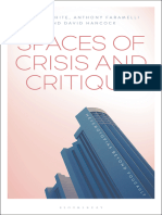 Robert White & David Hancock - Spaces of Crisis and Critique, Heterotopias Beyond Foucault
