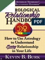 Astrological Relationship Handbook - Kevin B. Burk [2006, Serendipity Press]