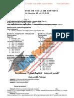 ListaFacultati.ro Subiecte Admitere Universitatea Bucuresti Teologie Baptista 2002