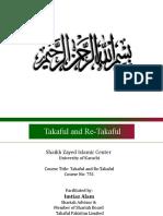 Lec- 04 Takaful Course-SZIC- MS 751-Imtiaz Alam