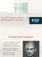 Tema 33 Transplantes RECHAZO