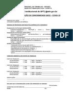 3. AUTODECLARAÇÃO DE CONFORMIDADE - ADC