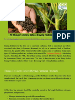 10 Things to Know Before Buying Fertilizer Products