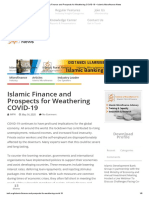 Islamic Finance and Prospects for Weathering COVID-19 – Islamic Microfinance News