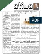 Datina - 21.07.2020 - prima pagină