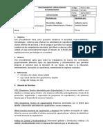 PGC 17 SIG Procedimiento de capacitaciones