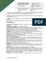 PGC 18 SIG  Procedimiento Residuos Peligrosos