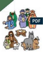 Eu amo o bebê Jesus - TC Natal - Personagens - Color