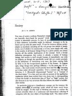 Adorno - Society