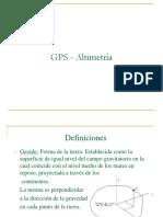 GPS altimetrico y Agricultura de precision