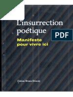 Le Journal du Gardien des horizons, extrait dans L'insurrection poétique chez Bruno Doucey