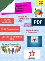 Tipos de Sociedades que Existen en Venezuela