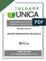 GESTÃO DEMOCRATICA NA ESCOLA