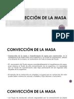4 Convección de la masa e