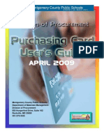 COO Approved Purchase Card Guide 042309