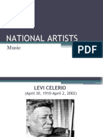 NATIONAL ARTISTS music