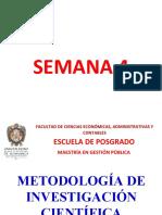 semana 4 metodologia
