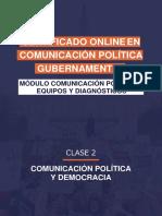Comunicación política y democracia