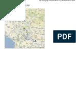 Од Крушевац до Банско, Бугарска - Google мапе