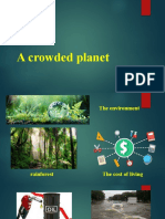 a crowded planet