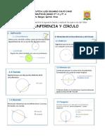 Guía aprendizaje Circunferencia 1
