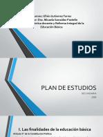 Plan de estudios 2006 Secundaria