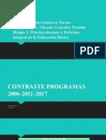 Contraste Secundaria 2006-2011-2017