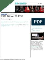 1970 Gibson ES-175D Electric Guitar