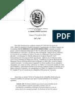 Sentencia SC-TSJ 07072020 Suspención instrumentos normativos que establezcan Tasas y Contribuciones.pdf