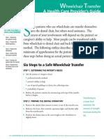 Wheelchair Transfer_A Health Care Provider's Guide 2012