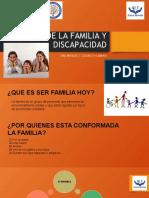 ROL DE LA FAMILIA Y DISCAPACIDAD