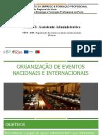 UFCD 6228. ORGANIZAÇÃO DE EVENTOS NACIONAIS E INTERNACIONAIS.pptx