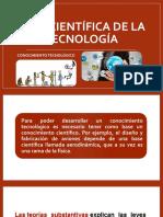 BASE CIENTÍFICA DE LA TECNOLOGÍA