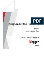 4 Interruptores - Resistencia Dinámica (19-V1)