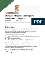 Business Model de l