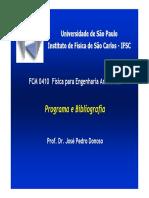 apresentação - DONOSO - 1 Programa
